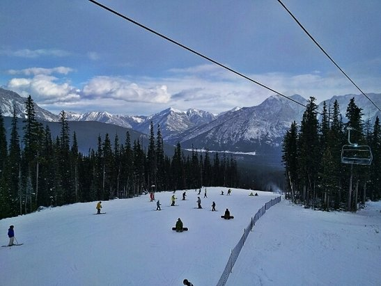 Nakiska Ski Area - not bad for first day  - © donDUPA