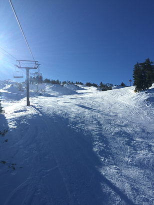 Mt. Bachelor - Firsthand Ski Report - ©Paul's iPhone