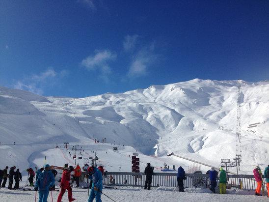 Cauterets - Belle neige ! - © iPhone de mel