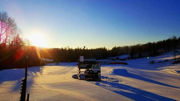 Ski Brule - We have the snow! Groomers are on Sunrise this morning, so it's looking like that trail will be open any day now! - © jpell61392