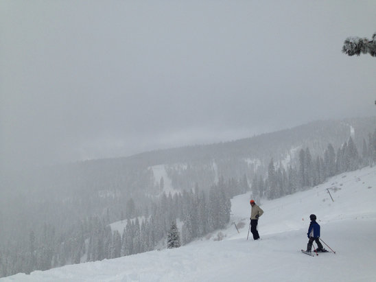 Dodge Ridge - Good day, promising ride/ ski time!!  - © iPhone