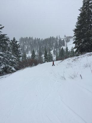 Bogus Basin - Nice skiing day ... - © stephenlaz