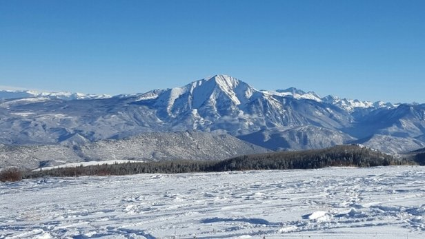 Sunlight Mountain Resort - Awesome early season pow to be had!  Don't forget to stop and peep the views. - © actualnames