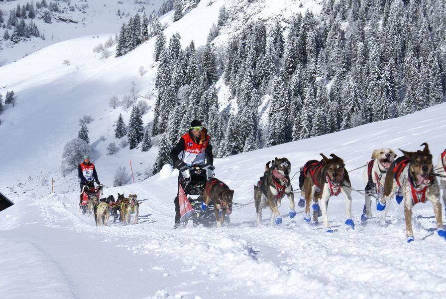 Etape de la Grande Odyssée Savoie Mont Blanc - © OT Praz de Lys Sommand Tourisme