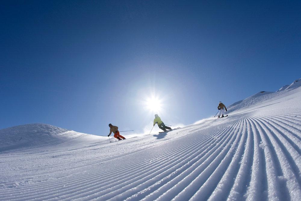 Idealna pogoda na stokach Mayrhofen - © Mayrhofner Bergbahnen
