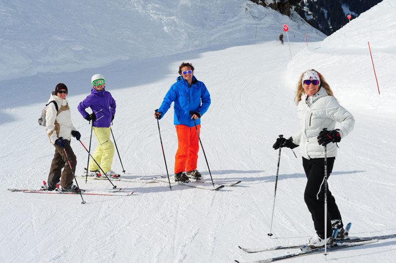 Ski in Châtel - © Châtel Tourisme