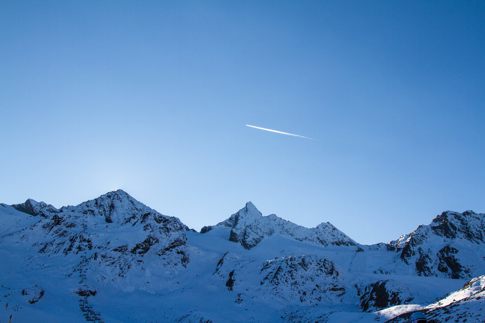 Stubaiské Alpy za soumraku - © Skiinfo
