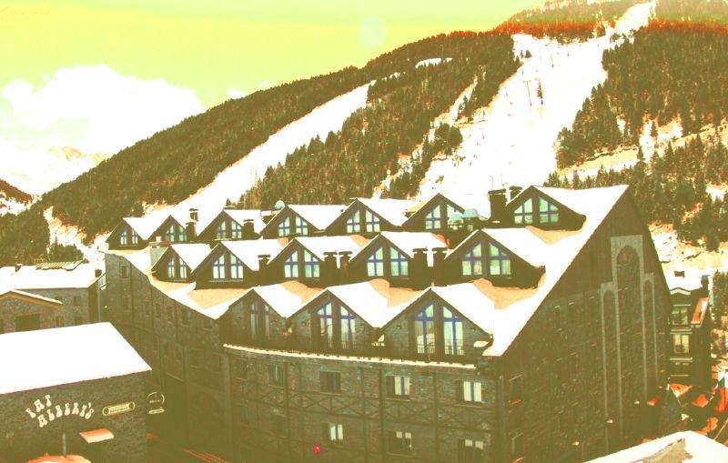 A view of the hotel at Grandvalira Andorra