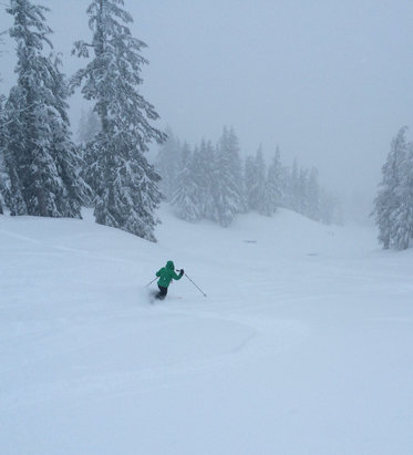 Mt. Bachelor - Omg today was even better, colder, calmer, 16
