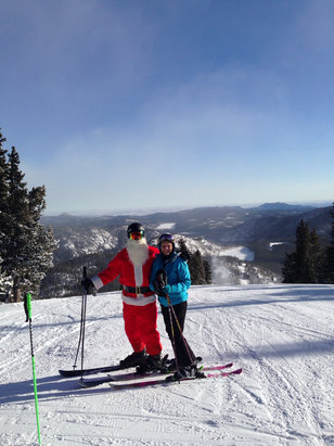 Eldora Mountain Resort - Merry Christmas to all! - ©Pat's iPhone