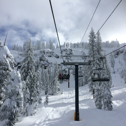 Sugar Bowl Resort - [! skireport_firsthandpost_pagetitle ] - © Don's iPhone