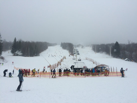 Stratton Mountain - Getting better - ©iPhone