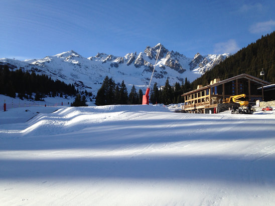 Courchevel - Just back and really good skiing - © Kevan's iPad