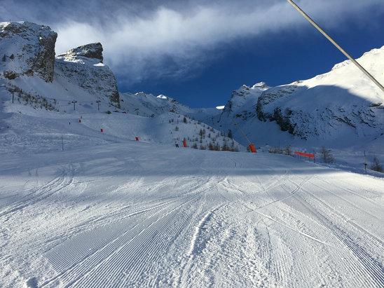 Val d'Allos - La Foux - Plutôt pas mal ce matin  - © tripleX