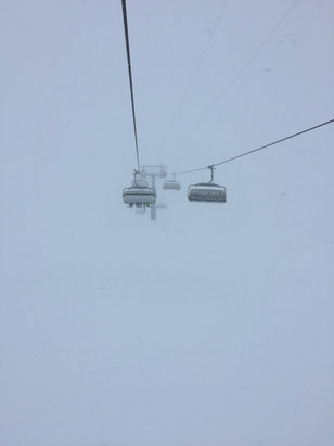 Engelberg - Lots of new snow! Unfortunately poor visibility. - © MK