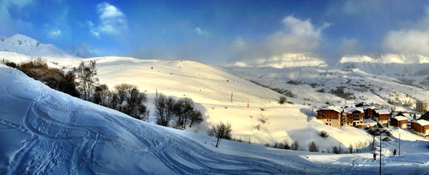 Saint François Longchamp - [! skireport_firsthandpost_pagetitle ] - © iPhone