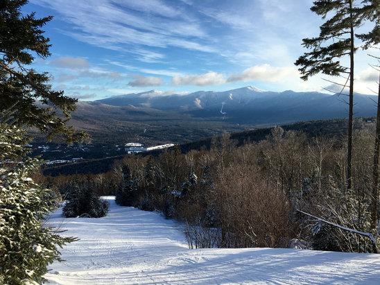 Bretton Woods - Beautiful day.  - © David's iPhone