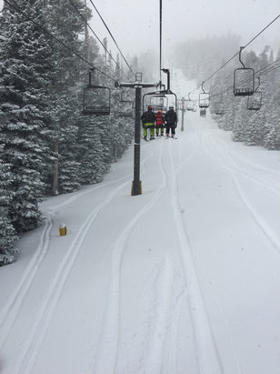 Eldora Mountain Resort - Never seen Eldora like this! - © my god damb iPhone