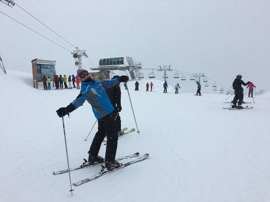 La Plagne - A night and day of snowing gives another perfect skiing. Looking forward to wednesday. - © Frederik F.