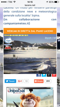 Laceno - [! skireport_firsthandpost_pagetitle ] - © iPhone di Gaetano