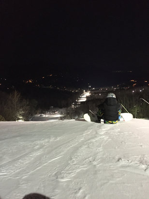 Massanutten - Awesome night snowboarding. Great conditions!  - © Hunter's iPhone