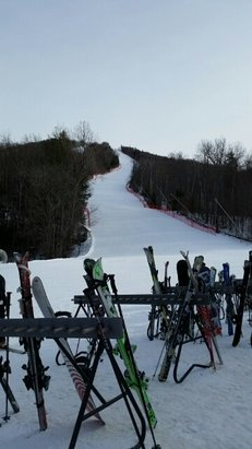 Mount Sunapee - beautiful mountain, great grooming. So glad we made the trip. - © skitilludrop