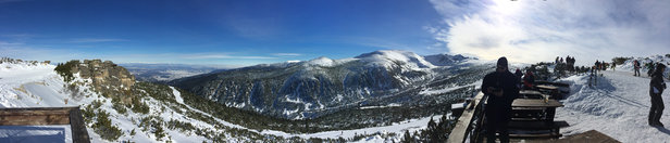 Borovets - Great conditions. Nearly all the runs are open! Could probably do with a little more snow over the next few days as some areas have a few rocks coming through but great so far