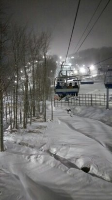 Ski Bromont - Monday and Tuesday had great snow but it was cold as hell. - ©anonymous user