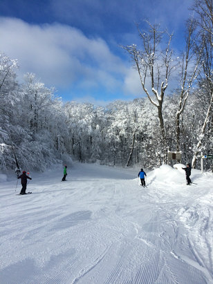 Boyne Highlands - Firsthand Ski Report - ©Abbey's iPhone