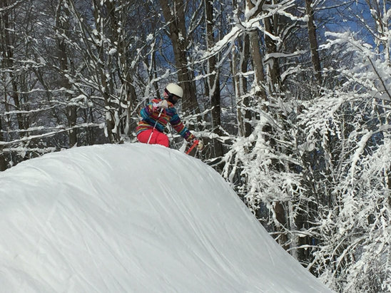 Holiday Valley - The whales were awesome, thrilling, and fun. Great weekend at Holiday Valley.  - © H & H sisters