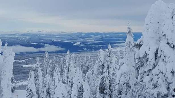 Sun Peaks - great day up top!little icy at the base!spectacular views!! - © wendywarkentin