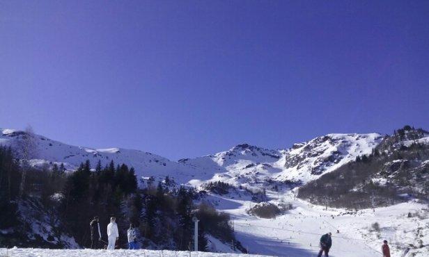 Les Monts d'Olmes - Neige dure le matin et beaucoup de glace , l'après-midi une grosse soupe au front de neige...vite vite l'hiver pour skier à nouveau... - © candidocaseiro