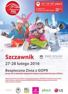 Bezpieczna zima z GOPR - 27-28.02.2016 r. - © www.wierchomla.com.pl