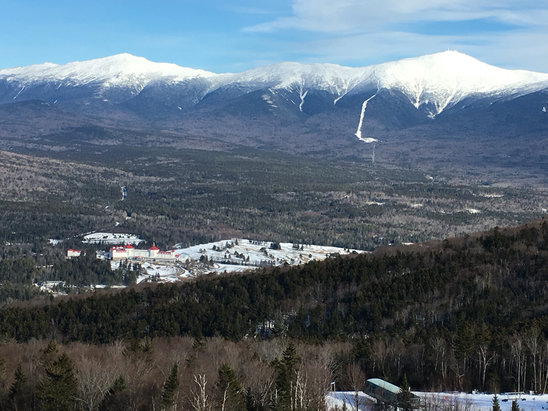 Bretton Woods - Beautiful out today.  - © Chris' iPhone