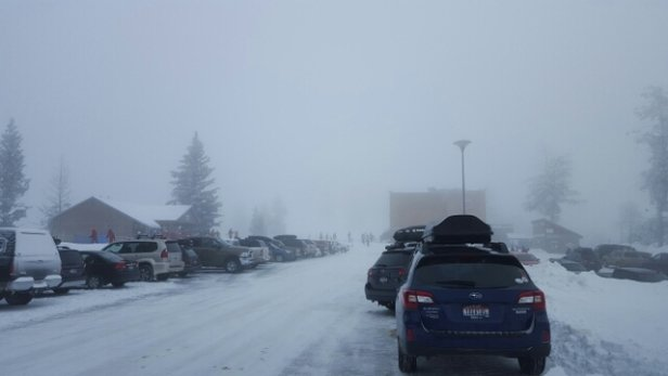 Bogus Basin - low to no visibility. need that sunny shine. - © jeremyT