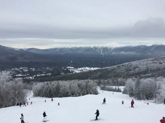 "Bretton Woods - Awesome day. The 3"" made all the difference. $89 ticket a little steep for half open. 