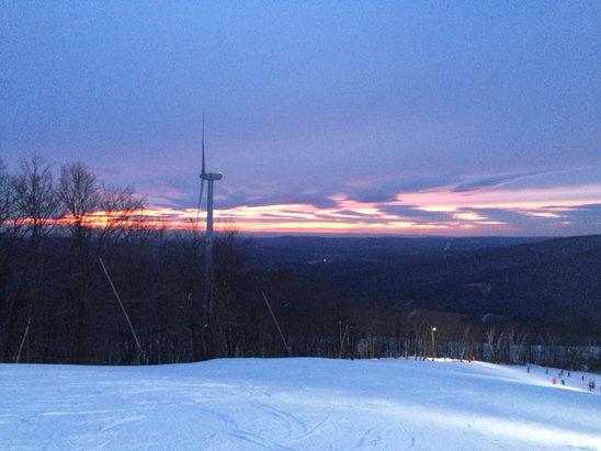 Jiminy Peak - [! skireport_firsthandpost_pagetitle ] - © Addison's iPhone
