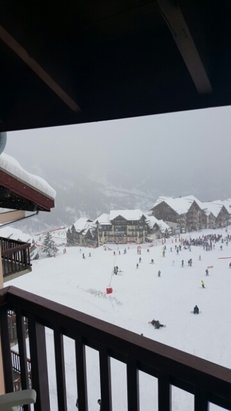 Valmeinier - grosse neige tombé toute la nuit ! et ca continu !!! - © tonyfornara