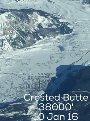 Crested Butte Mountain Resort - Blizzard the last 2 days added to last weeks powder. Perfect conditions all terrain. Come if you can.  - © LLB iPhone 6