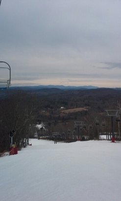 Mohawk Mountain - yesterday always a good day at Mohawk - © skiblueridge62