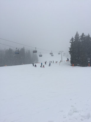 Garmisch Classic-Skigebiet - Fun!  - © iPhone