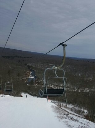 Jack Frost - Great days right now at Jack Frost. The conditions are great. Photo was taken from last Sunday.  - © PoconoSkier28