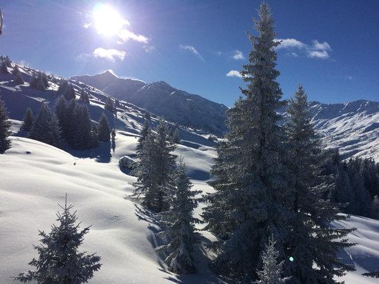Valmeinier - Le soleil en plus....    - © iPhone de olivier