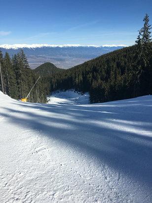 Bansko - Quite and calm - ski run 12 at 11 a.m2.02.16 - © Katina's iPhone