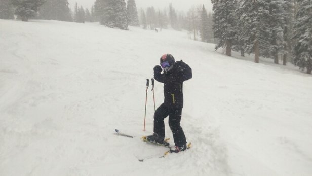 Brighton Resort - Firsthand Ski Report - ©shelby.sandlinc
