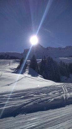 Valmorel - Journée de ski super agréable ! la neige est parfaite ! - © misstik60