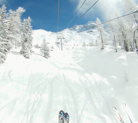 Sainte Foy Tarentaise - Photo taken 2 days ago on the Marquis chairlift - © Route66