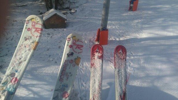 Puy Saint Vincent - la station toujours au top! la neige à beau être dur,  les dameures font un travail exceptionnel.  ça reste agréable à skier  - © girit31