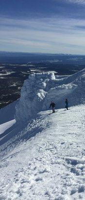 Mt. Bachelor - Awesome day at the mountain. The summit was epic!! - © William Whitlow's iPhone