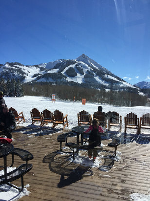 Crested Butte Mountain Resort - Bluebird day on the mountain. Perfect. 